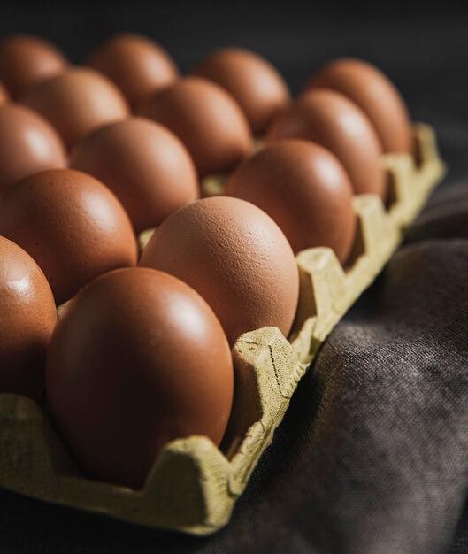 Les aliments diététiques : Œufs