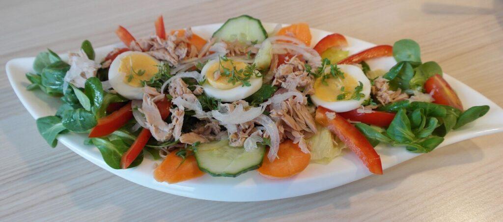 Salade de thon simple