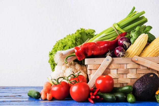 aliments diététiques Légumes