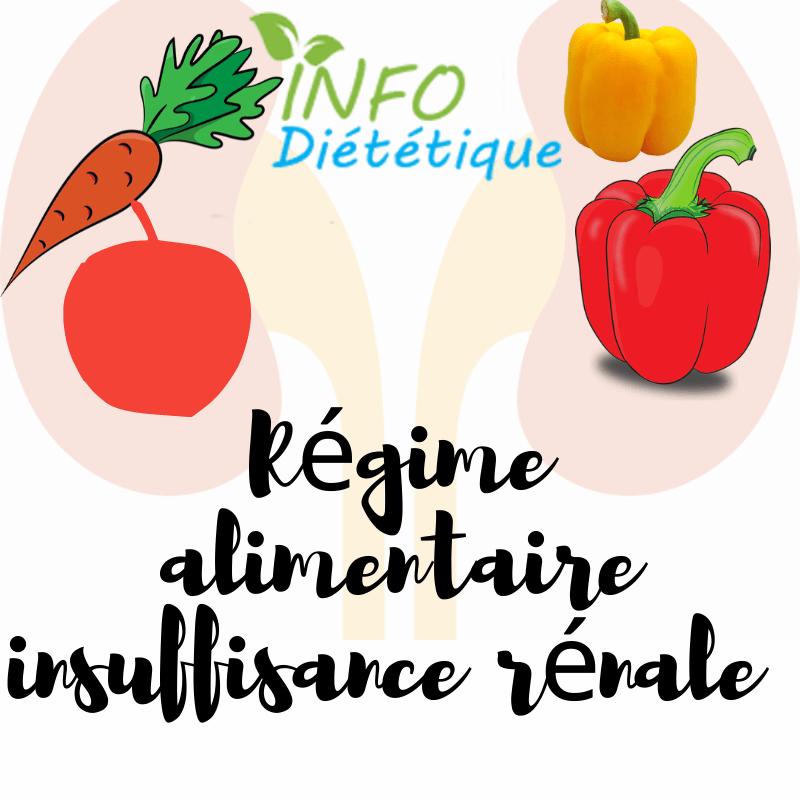 Régime alimentaire insuffisance rénale
